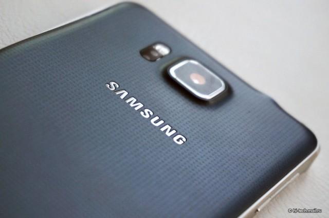 Samsung Galaxy Alpha камера
