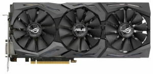 ASUS GeForce GTX 1080 1670Mhz 8192Mb