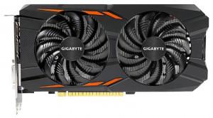 GIGABYTE GeForce GTX 1050 Ti (GV-N105TWF2OC-4GD)