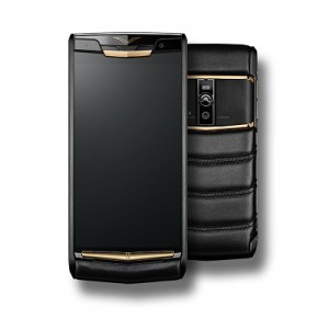 New Vertu Signature Touch Pure Jet Red Gold