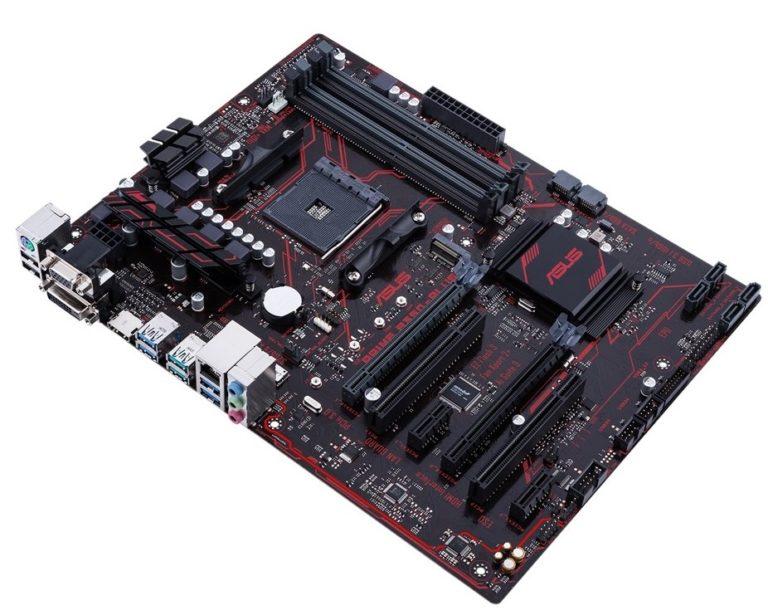 Чипсет AMD B350 - Asus PRIME B350-PLUS