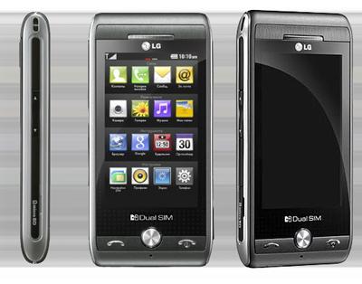 Телефон LG GX500 с двумя SIM картами