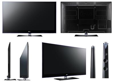 Плазменные 3-D телевизоры HDTV LG PK950 и LG PX950n