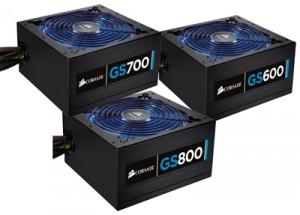 Блоки питания Corsair для игрового компьютера: GS600, GS700, GS800