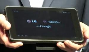 3D планшет G-Slate от LG