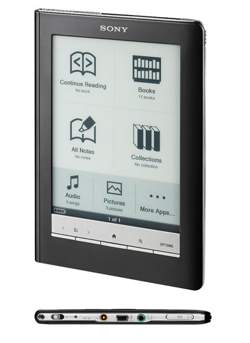 Электронная книга Sony PRS-600 Reader Touch Edition