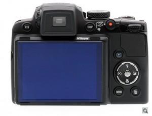 Задняя панель фотокамеры Nikon Coolpix P500