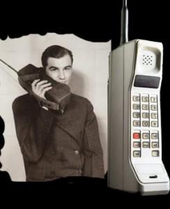 Первый мобильный телефон Motorola DynaTac