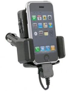 ФМ трансмиттер-подставка под iPhone