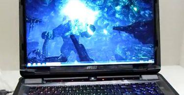 Игровой ноутбук MSI модель GT780R