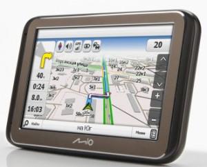 Внешний вид автомобильных GPS навигаторов Mio Cruiser 3160, 5160, 5165