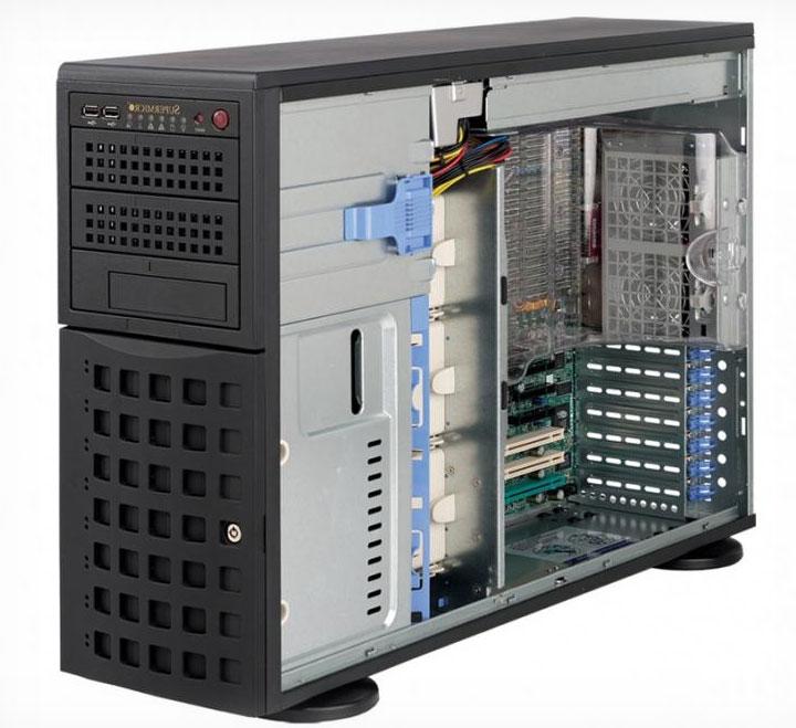 Фото сервера Supermicro