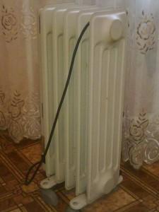 Бытовой масляный радиатор