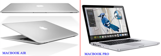 MacBook Air и MacBook Pro
