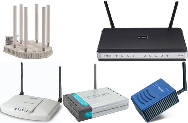 Базовые станции Wi-Fi
