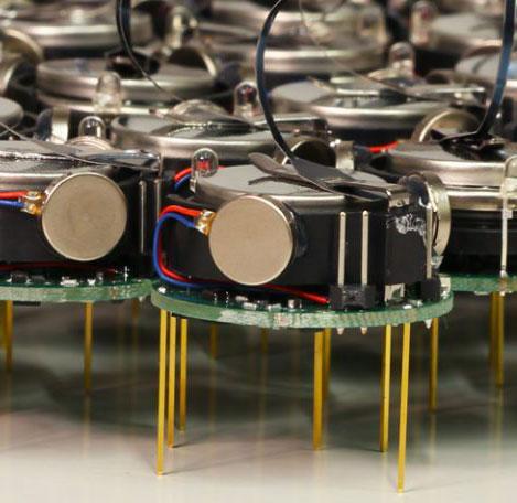 Коллектив из маленьких роботов