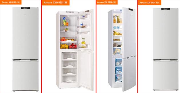 Холодильники Атлант 6100 серии