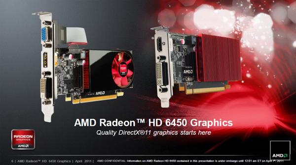 Видеокарта AMD Radeon 6450