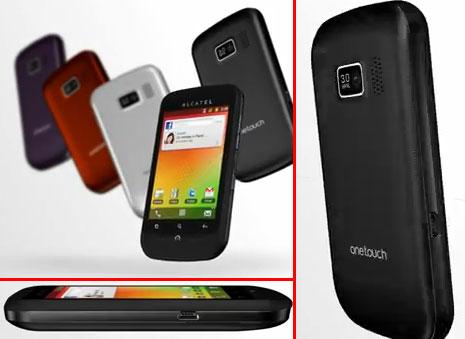 Внешний вид смартфона Alcatel OT-918D