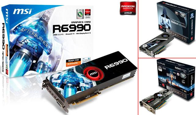 Видеокарты Radeon HD 6900: HD 6950, HD 6970 и HD 6990