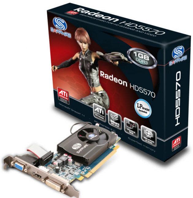 Видеокарта Radeon 5570