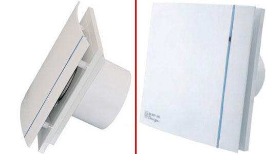 Вытяжной вентилятор SILENT 200 CHZ DESIGN-3C