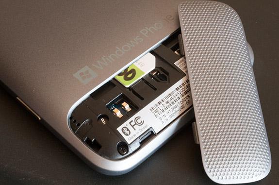 открытый HTC Titan II