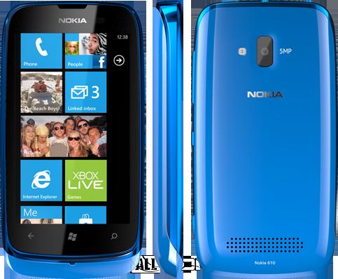Бюджетный смартфон Nokia Lumia 610