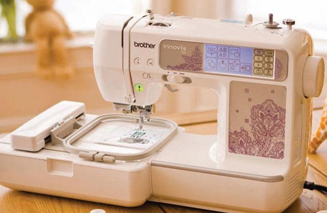 Швейно-вышивальная машинка