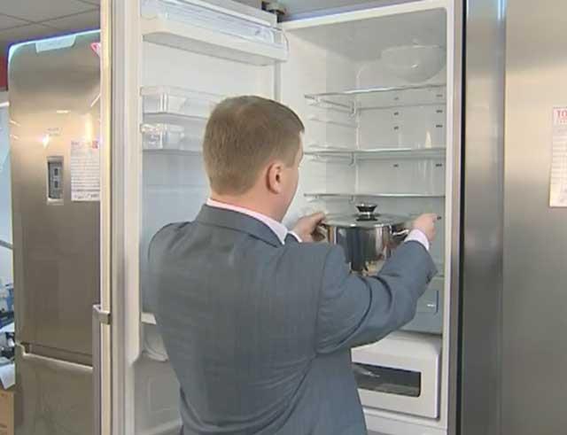 Удобство двухкамерных холодильников