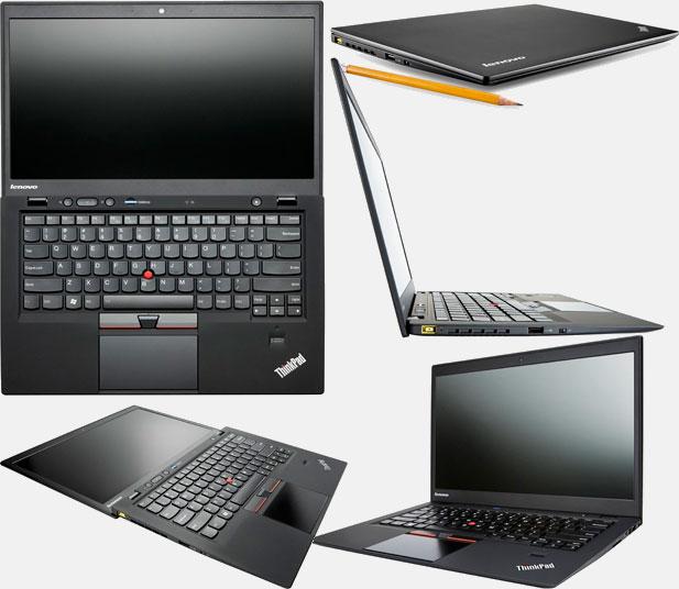 Внешний вид ультрабука Lenovo ThinkPad X1 Carbon