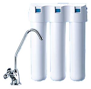 Фильтр для очистки воды стационарного типа (устанавливается под мойкой)
