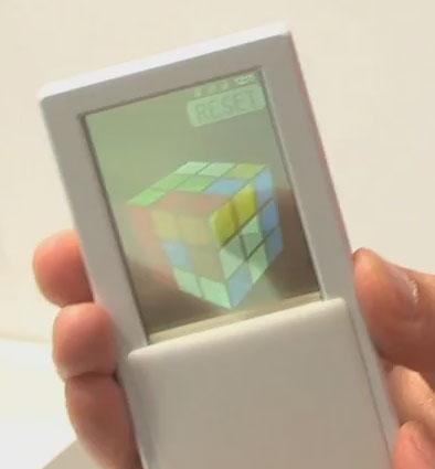 Прототип смартфона с двухсторонним экраном