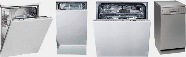 Посудомоечные машины производства компании Whirpool
