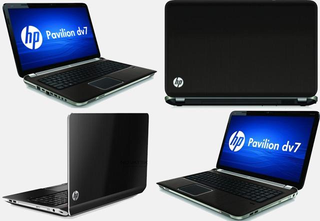 Внешний вид ноутбука HP Pavilion dv7-7003er (B1W83EA)
