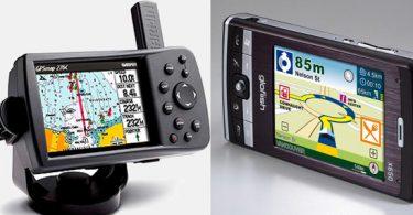 Смартфон или GPS-навигатор для автомобильной навигационной системы