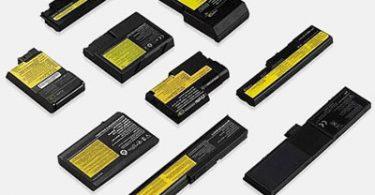 Батареи питания для ноутбуков