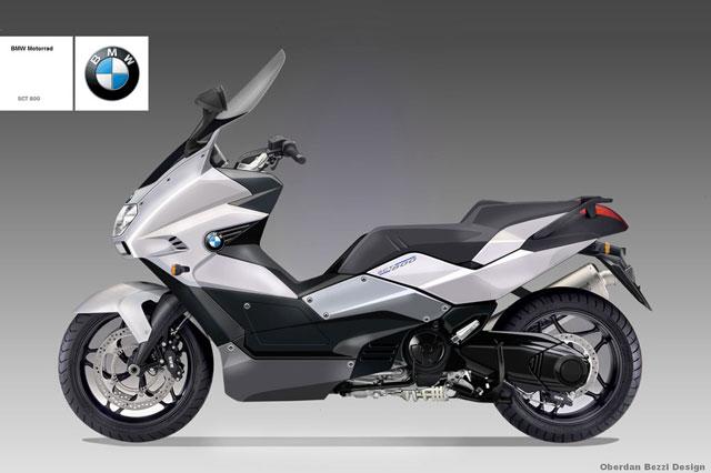 Электроскутер BMW