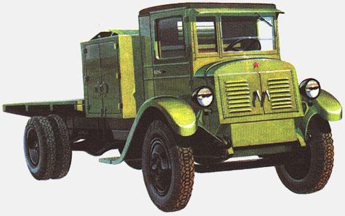 Первый советский автомобиль с электродвигателем