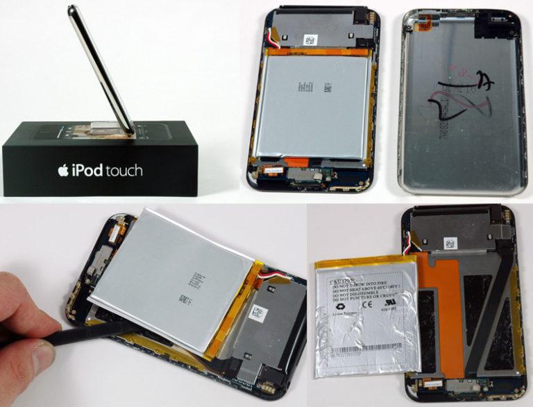 ipod touch 2 замена аккумулятора