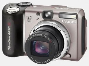 Фотокамера Canon PowerShot A650 IS