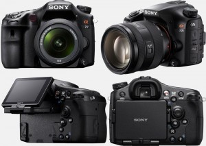 Цифровая фотокамера Sony Alpha 77