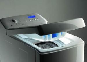 Бытовая стиральная машина с вертикальным типом загрузки белья
