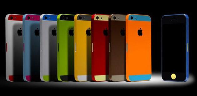 Iphone 5c варианты расцветок корпуса