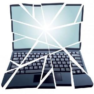 Основные причины поломки ноутбуков