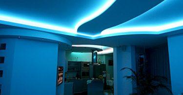 Как сделать светодиодную подсветку потолка и других конструкций