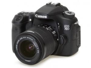 Зеркальный фотоаппарат Canon EOS 70D