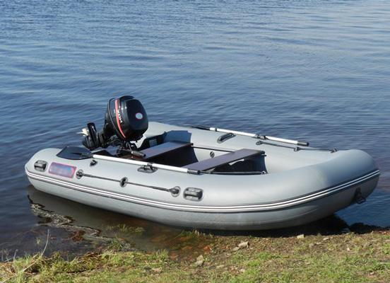 Как выбрать надувную ПВХ лодку с мотором