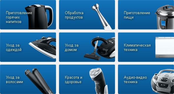 Ассортиментный ряд продукции фирмы VITEK