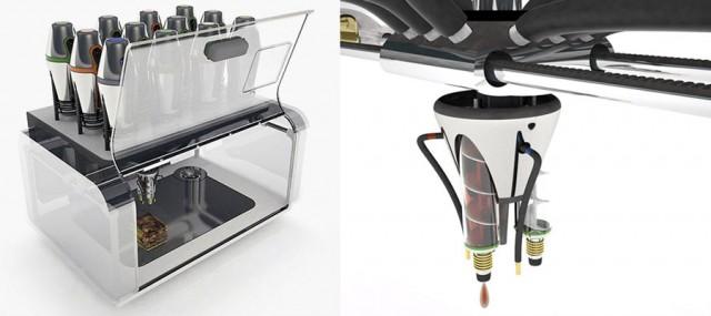 Принтер печатающий пищевыми продуктами Cornucopia Food Printer